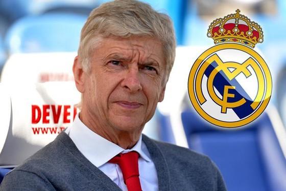 Arsene Wenger trở thành ứng viên sáng giá nhất cho Real Madrid.