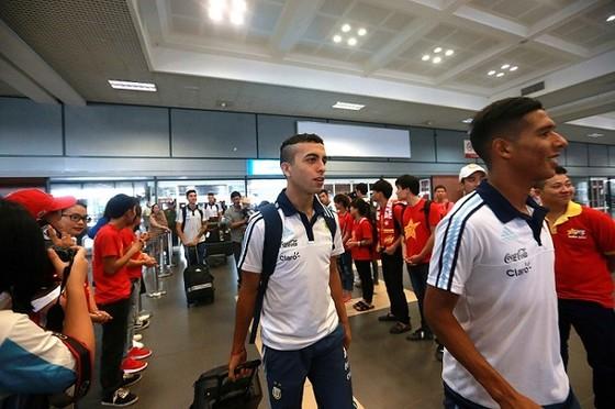 U20 Argentina được đón nồng hậu tại Hà Nội ảnh 2