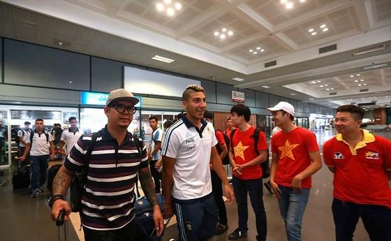 U20 Argentina được đón nồng hậu tại Hà Nội ảnh 3