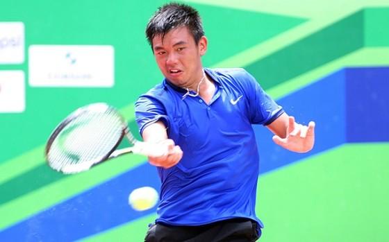 Hoàng Nam, Linh Giang phải loại nhau tại giải F2 Thái Lan ảnh 1