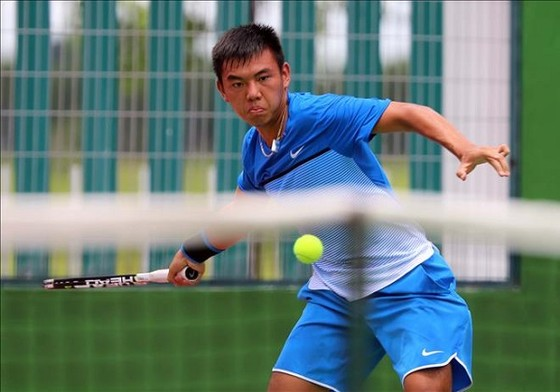 Lý Hoàng Nam sẽ thi đấu chung kết đơn nam tại giải F3 Thái Lan. Nguồn: tư liệu