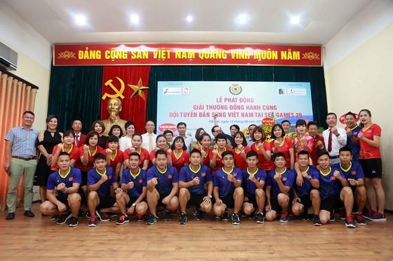 Tập thể đội bắn súng Việt Nam quyết tâm đoạt kết quả cao nhất tại SEA Games 2017. tác giả: NGỌC HẢI