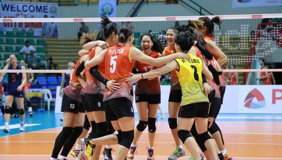 Đội nữ Việt Nam đứng hạng 5 châu Á. Nguồn: AVC