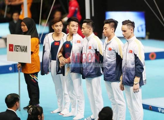 Đội nam TDDC bảo vệ thành công ngôi vô địch SEA Games. Ảnh: DŨNG PHƯƠNG