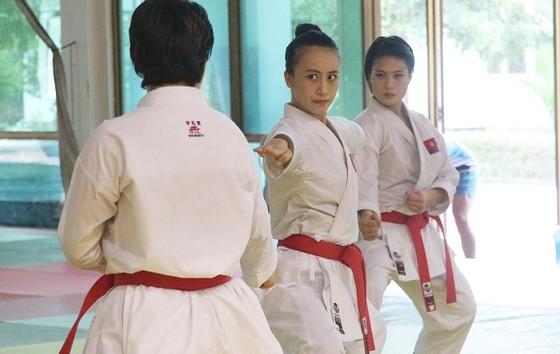 VĐV karatedo Việt Nam chia tay Malaysia với 5 HCV ảnh 1
