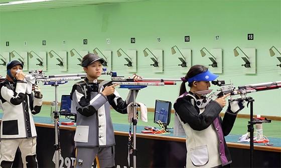 Xạ thủ trẻ Iwaki Ai chưa thể giành huy chương SEA Games đầu tiên sự nghiệp. Ảnh: NGỌC HẢI