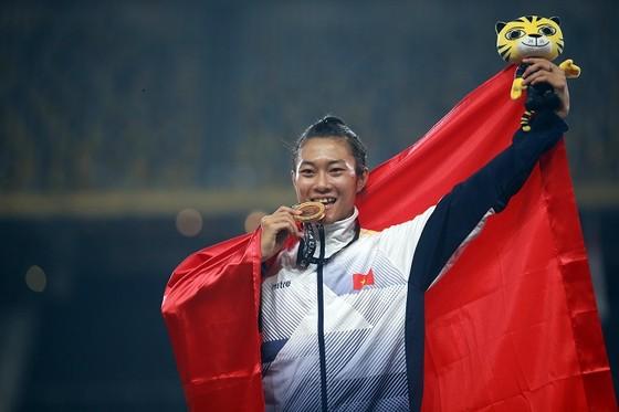 Tú Chinh tự tin sẽ có thành tích tại ASIAD năm sau. Ảnh: NGỌC HẢI