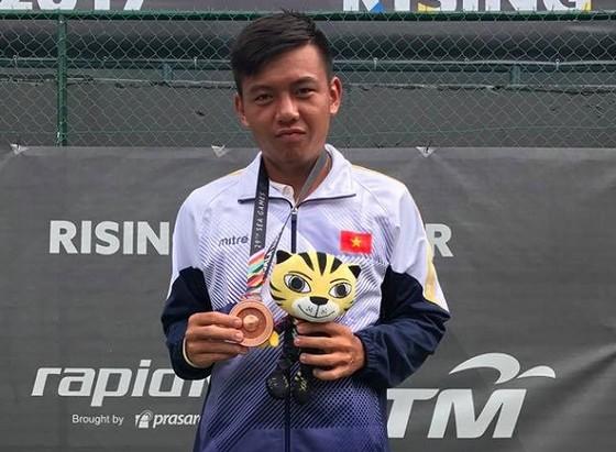 Hoàng Nam tiếp tục tăng hạng trên bảng xếp hạng ATP. Ảnh: NHẬT ANH