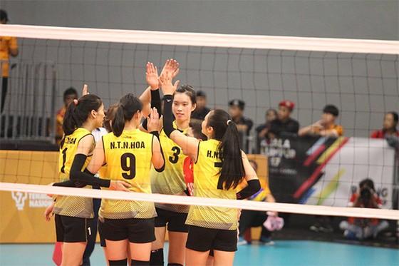 Đội tuyển nữ Việt Nam đang có tinh thần hưng phấn nhất. Ảnh: NGỌC HẢI