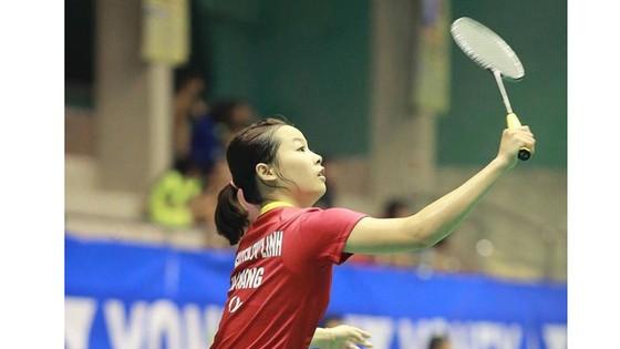 Tay vợt Nguyễn Thùy Linh không vào được chung kết giải. Nguồn: FBNV