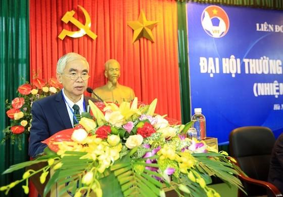 Chủ tịch VFF khóa 7 Lê Hùng Dũng là trưởng Tiểu ban nhân sự chuẩn bị cho Đại hội VFF khóa 8. Ảnh: MINH HOÀNG