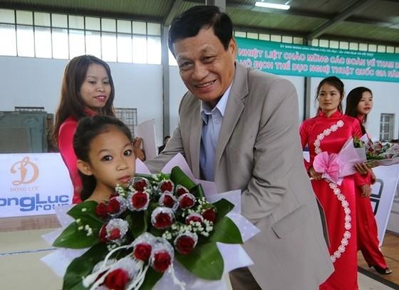 Ông Trần Chiến Thắng tiếp tục là Chủ tịch Liên đoàn Thể dục Việt Nam nhiệm kỳ 5. Ảnh: VĂN DUY