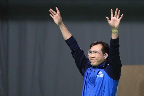 Xạ thủ Hoàng Xuân Vinh đang đứng thứ 2 thế giới nội dung 10m súng ngắn thể thao. Nguồn: IOC