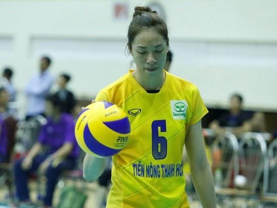Trà Giang đã chia tay Thanh Hóa để về Bắc Ninh chơi bóng. Ảnh: THIÊN HOÀNG