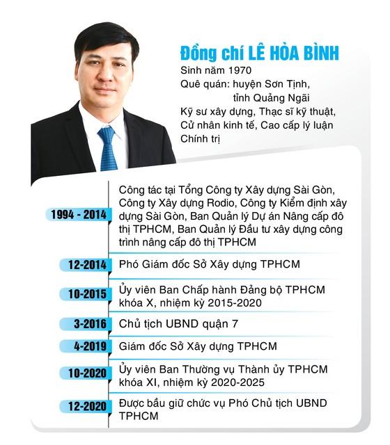 Đồng chí Phan Thị Thắng và đồng chí Lê Hòa Bình được bầu giữ chức Phó Chủ tịch UBND TPHCM  ảnh 1