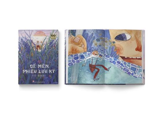 'Dế Mèn phiêu lưu ký' gây sốt với minh họa của nữ họa sĩ 9X ảnh 2