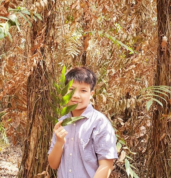 Con trai nhà văn Nguyễn Ngọc Tư ra mắt sách ở tuổi 13  ảnh 2