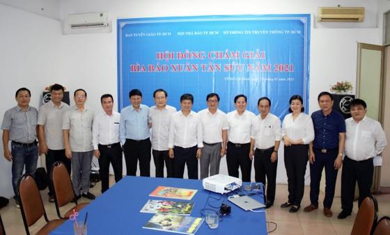 Báo Sài Gòn Giải Phóng đạt giải Ba bìa báo Xuân Tân Sửu 2021 ảnh 2