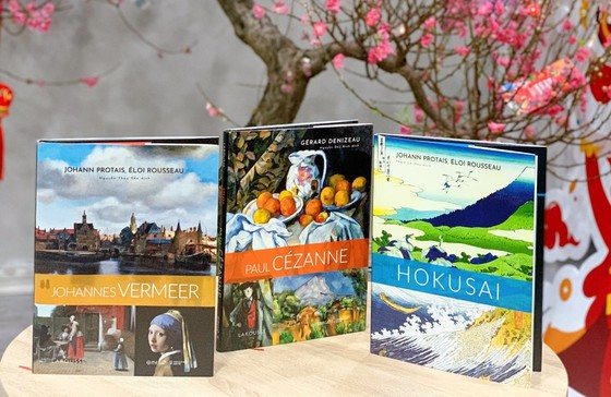 Ra mắt 3 cuốn tiếp theo trong Bộ danh họa Larousse về các họa sĩ nổi tiếng thế giới  ảnh 1