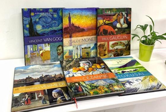 Ra mắt 3 cuốn tiếp theo trong Bộ danh họa Larousse về các họa sĩ nổi tiếng thế giới  ảnh 2