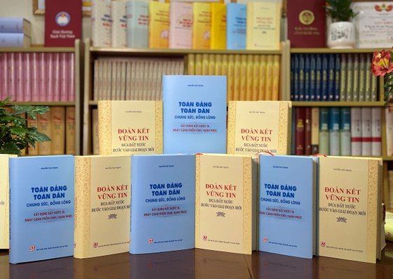Ra mắt hai ấn phẩm của Tổng Bí thư Nguyễn Phú Trọng nhân dịp Quốc khánh 2-9  ảnh 1