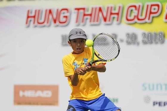 Tay vợt Việt kiều Thiên Quang. Ảnh: DŨNG PHƯƠNG