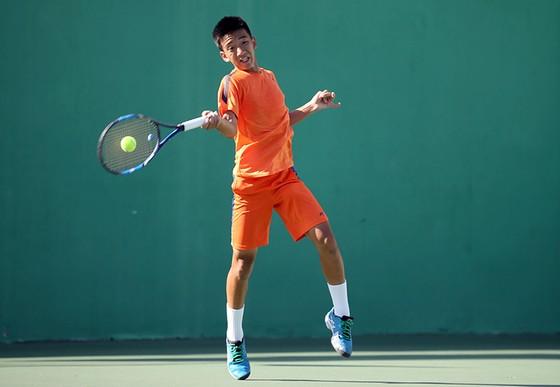 Giải quần vợt U.14 nhóm 2 châu Á: Quốc Uy – Thiên Quang vô địch nội dung đôi nam ảnh 2