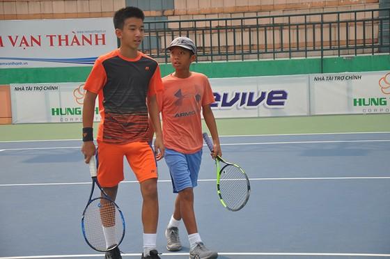 Giải quần vợt U.14 nhóm 2 châu Á: Quốc Uy – Thiên Quang vô địch nội dung đôi nam