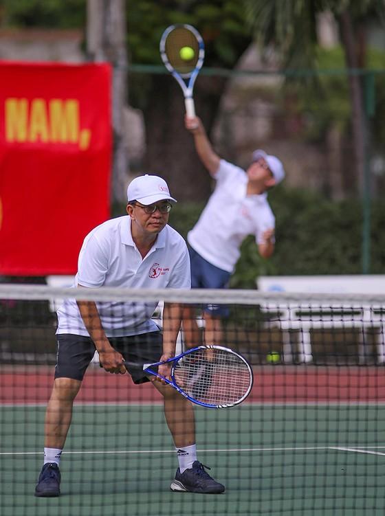 Giải quần vợt Sở Xây dựng các tỉnh, thành phố năm 2018: Sân chơi lành mạnh cho người lao động ảnh 4