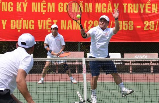 Giải quần vợt Sở Xây dựng các tỉnh, thành phố năm 2018: Sân chơi lành mạnh cho người lao động ảnh 1