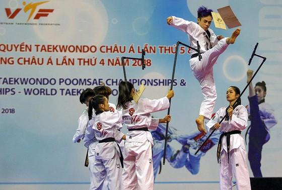 Giải vô địch Taekwondo Châu Á lần thứ 23 năm 2018: Việt Nam có huy chương đồng đầu tiên ảnh 1