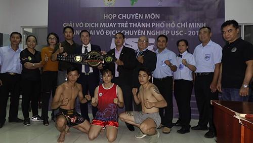 Giải Vô địch Muay trẻ và tranh đai vô địch USC 2018: 150 võ sĩ tham dự ảnh 1