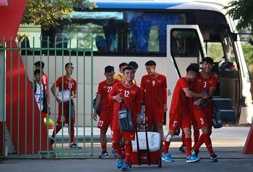 Giải U22 Đông Nam Á 2019:  U22 Việt Nam thả lỏng chờ trận gặp Timor-Leste ảnh 1