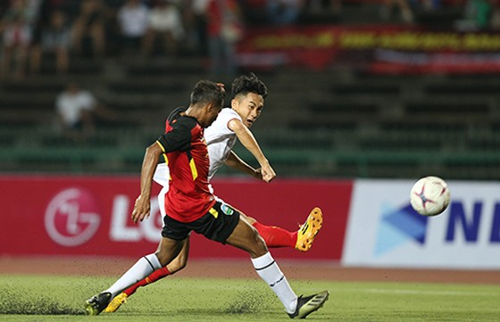 Ngất ngây cùng những phút giây chói sáng của tuyển thủ U22 Việt Nam ảnh 6