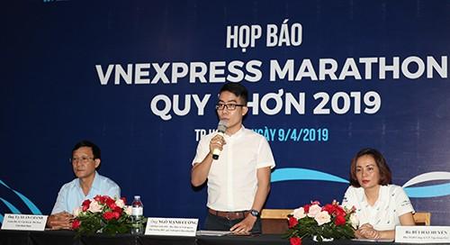 5.000 VĐV tham dự giải chạy VnExpress Marathon tại Bình Định ảnh 1