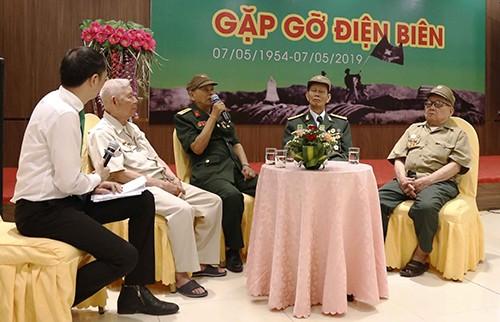 Gặp gỡ giao lưu cựu chiến binh tham gia chiến dịch Điện Biên Phủ