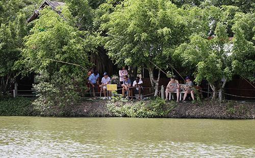 Khoảnh khắc thư giãn của các cô gái bóng chuyền cùng trò chơi dân gian Việt Nam ảnh 4