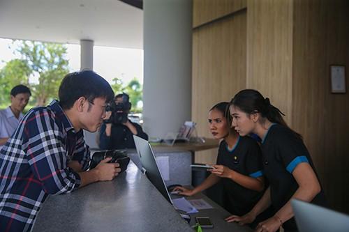Xuân Trường, Công Phượng, Văn Lâm hội quân cùng tuyển Việt Nam tại khách sạn Modena (Buriram – Thái Lan) ảnh 2