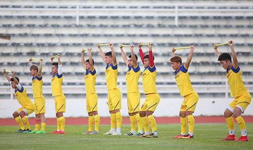 Các tuyển thủ Việt Nam thả lỏng chờ trận chung kết với Cuaracao ảnh 6