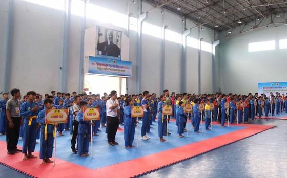 Giải Vovinam Việt Võ Đạo năng khiếu TPHCM 2019: 450 VĐV tham dự  ảnh 2