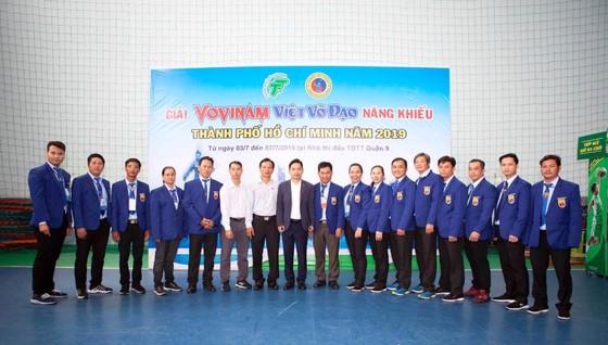 Giải Vovinam Việt Võ Đạo năng khiếu TPHCM 2019: 450 VĐV tham dự  ảnh 1