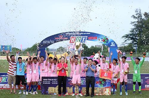 Giải bóng đá thiếu nhi Bà Rịa - Vũng Tàu 2019: Cầu thủ Lê Thái Vũ ghi đến 21 bàn thắng ảnh 9