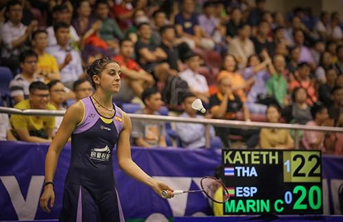 Giải cầu lông Việt Nam Open 2019:  Tay vợt Carolina María thua thảm vì khinh địch ảnh 12