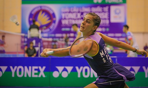 Giải cầu lông Việt Nam Open 2019:  Tay vợt Carolina María thua thảm vì khinh địch ảnh 6