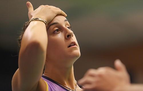 Giải cầu lông Việt Nam Open 2019:  Tay vợt Carolina María thua thảm vì khinh địch ảnh 11