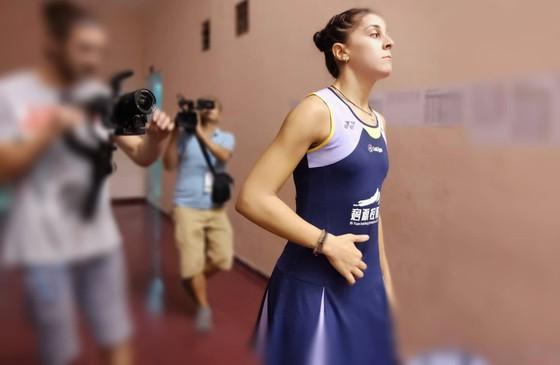 Giải cầu lông Việt Nam Open 2019:  Tay vợt Carolina María thua thảm vì khinh địch ảnh 2