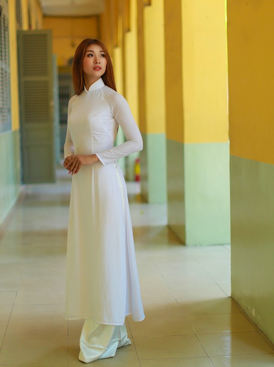 Nữ cử nhân bóng chuyền đại diện Việt Nam thi Miss Tourism World 2019  ảnh 8