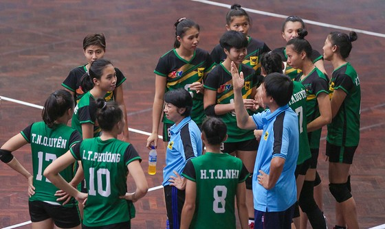 """Giải bóng chuyền trẻ toàn quốc 2019: VTV Bình Điền Long An """"hạ"""" Quảng Ninh vào bán kết ảnh 2"""