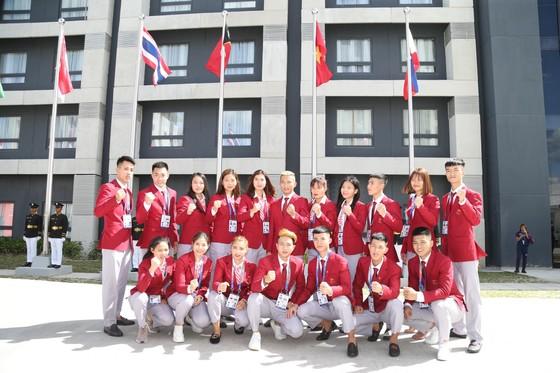 Lễ thượng cờ 'hoành tráng' của đoàn thể thao Việt Nam tại SEA Games 30 ảnh 1