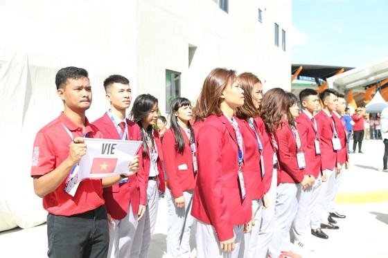 Lễ thượng cờ 'hoành tráng' của đoàn thể thao Việt Nam tại SEA Games 30 ảnh 3